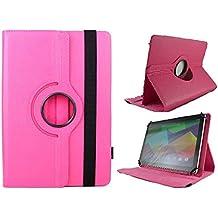 "Funda Giratoria para Tablet 3GO Geotab 10.1"" - Rosa FUCSIA"