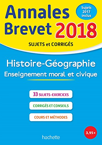 Annales Brevet 2018 Histoire-Géographie-EMC