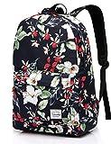 ragazze adolescenti Vaschy Impermeabile Liceo Zaino in Navy floreale Blooms Adatto portatile 15in