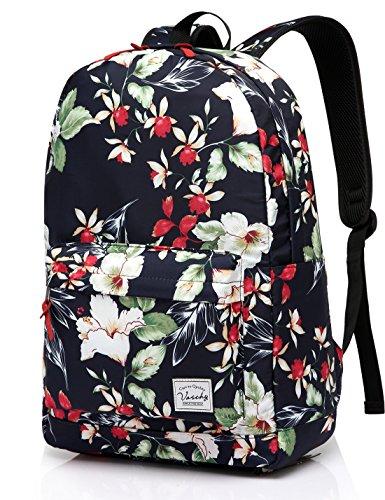 Imagen de  escolar para niñas, vaschy  de viaje floral de las mujeres ligeras  casual