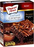 Best Brownie Mixes - Duncan Hines Decadent Salted Caramel Brownie Mix, 17.6 Review