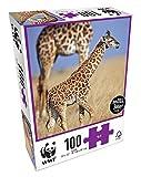 WWF Puzzle 100Teile–Tiere: Familie Giraffe, 103