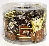 Hellma Belgische Schokoladen-Täfelchen, 1 x 742 g Dose