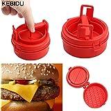Shopystore New Arrival Hamburger Maker Mold Sliders Plastic Stuffed Burger Press Meat Press Cookware