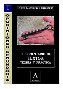 OPOSICIONES A SECUNDARIA (LENGUA). COMENTARIO DE TEXTOS