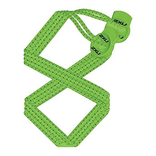2XU 2016 Performance Locked Laces Green UA1855G