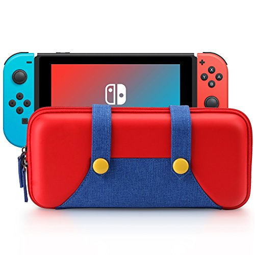 Image result for TAKE CASE New 3DS XL and 2DS XL Carrying Case - Fits Wall Charger - Includes XL Stylus, 16 Game Storage, Hard Shell and Accessories Pocket images