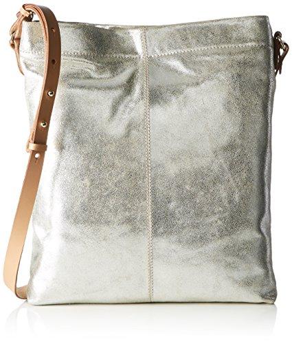 Clarks Teasdale Road, Sacs Portés Main Femme, 2x4x36 cm Argent (Silver Metallic)