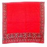 Vrinde Premium Pashmina Embroidered Red ...