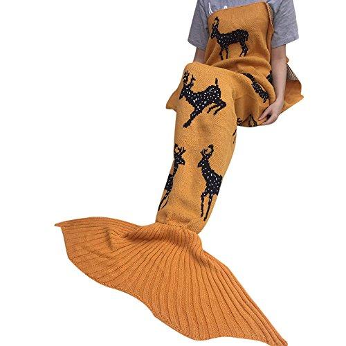 tonsee-weihnachten-erwachsenen-stricken-meerjungfrau-decke-sofa-decke-klimaanlageteppich-orange