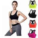 #3: BLAZZE women Sports Gym Yoga Bra vest slip camisole - panties