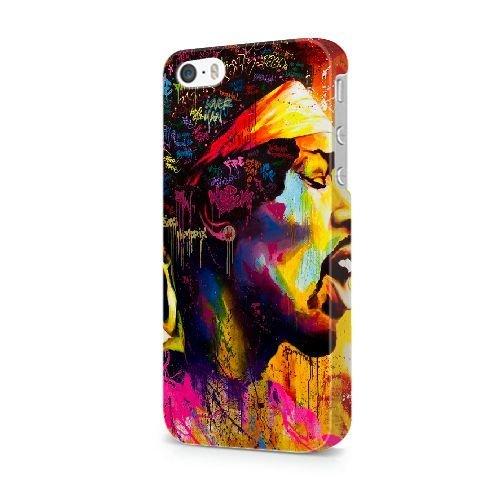 Générique Appel Téléphone coque pour iPhone 5 5s SE/3D Coque/JOHN DEERE LOGO/Uniquement pour iPhone 5 5s SE Coque/GODSGGH704556 JIMI HENDRIX - 022