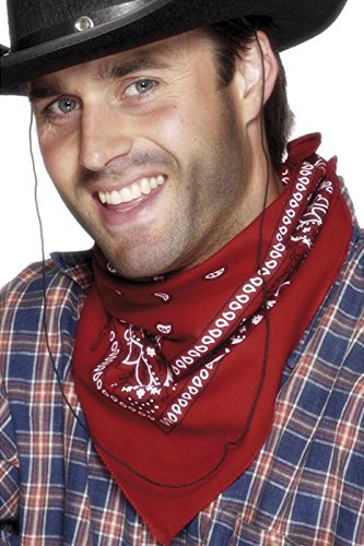 PARTY DISCOUNT Westerntuch / Bandana, rot