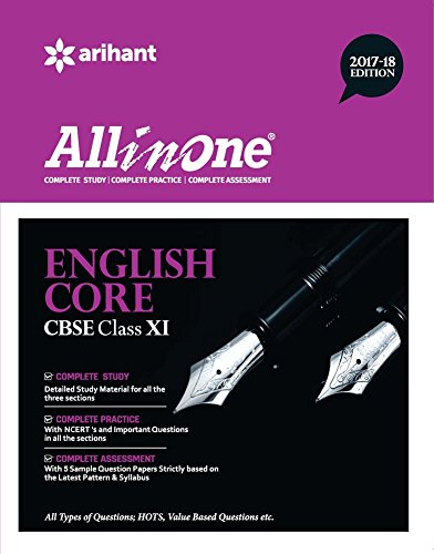 All in One ENGLISH CORE CBSE Class 11th 2017-18