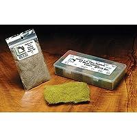 Hareline Liebre de orejas Plus DUB, verde oliva