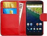 G-Shield Huawei Google Nexus 6P Hülle mit Kartenfach
