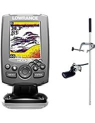 Lowrance Hook 3x Farb Echolot Fischfinder PORTABEL Master Edition
