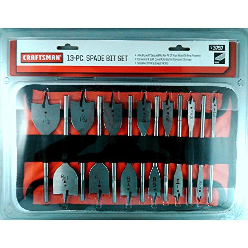 Craftsman 9–3797Spaten Bit-Set, 13-teilig