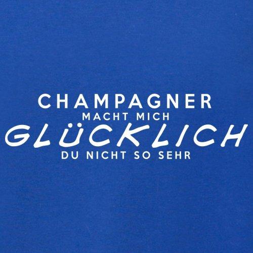 Champagner macht mich glücklich - Herren T-Shirt - 13 Farben Royalblau