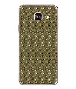 FUSON Designer Back Case Cover for Samsung Galaxy A5 (6) 2016 :: Samsung Galaxy A5 2016 Duos :: Samsung Galaxy A5 2016 A510F A510M A510Fd A5100 A510Y :: Samsung Galaxy A5 A510 2016 Edition (Seamless Pattern Blue Design Drawing )