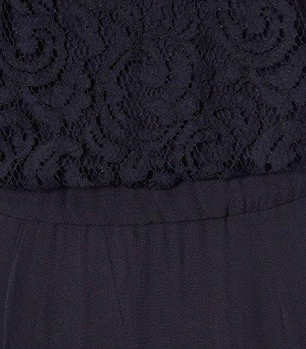 LA FEE MARABOUTEE Damen Overall mit Spitze Noir 700 noir