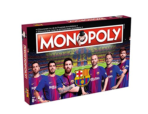 Eleven Force- Monopoly F.C. Barcelona 40x26 - +8 años