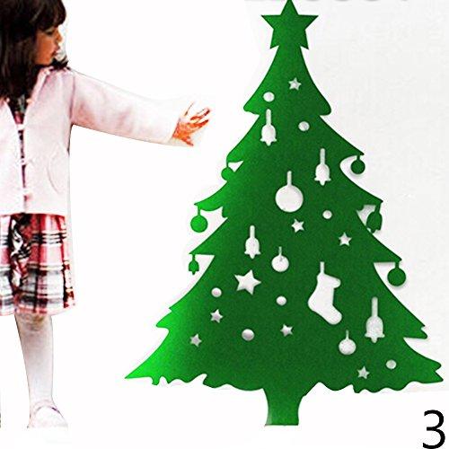 Eine Decke Weihnachtsschmuck Weihnachtsbaum DIY Kinderspielzeug Handgefertigt Großen Klassenzimmer Gewidmet (Handgefertigter Weihnachtsschmuck)
