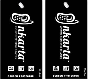 Pack of 2 nKarta (TM) Ultra Clear Screen Protector Guard for Karbonn Sparkle V Android One