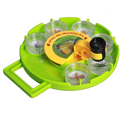 Brigamo Feld Mikroskop für Kinder, Natur unter dem Mikroskop, Experimentierkasten