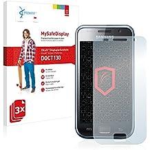 3x Vikuiti Protector de Pantalla DQCT130 de 3M para Samsung GT-I9001