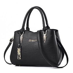 2018 New Designer handbags for women, BESTOU Ladies handbags PU leather women bags for work, shopping, date, party…