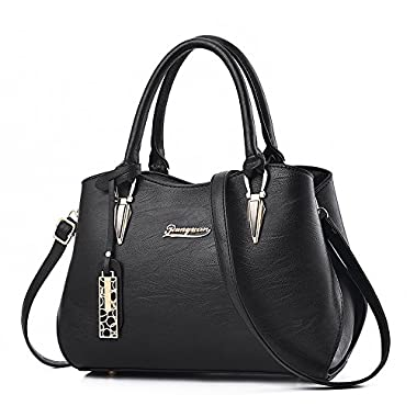 2018 New Designer handbags for women, BESTOU Ladies handbags PU leather women bags for work, shopping, date, party…