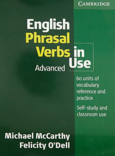 ENGLISH PHRASAL VERBS IN USE A por Michael McCarthy