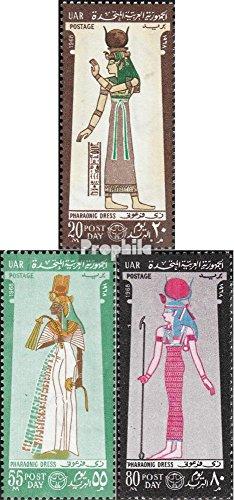 Ägypten 873-875 (kompl.Ausg.) 1968 Kostüme (Briefmarken für (Kostüm Briefmarke)