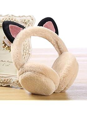 XUERUI Las orejeras de algodón de la planta mantienen el uso cálido de invierno Las muchachas de los 6 colores...