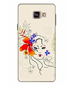 CRAZYMONK PREMIUM DIGITAL PRINTED 3D BACK COVER FOR SAMSUNG GALAXY A9 PRO