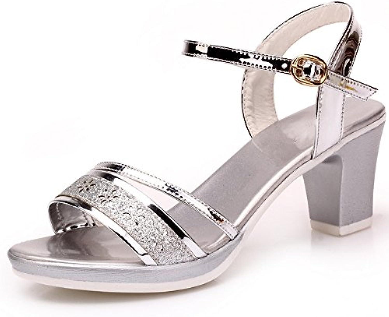 BAJIAN-LI Alta heelsdonna sandali estivi di Peep toe scarpe basse Ladies Flip Flop sandali scarpe | Scelta Internazionale  | Uomini/Donne Scarpa