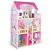 Molly and Friends Large wooden dolls house with furniture - Primrose Cottage