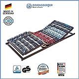 Ravensberger Matratzen Meditec® Lattenrost | 5-Zonen-TPEE-Teller-Systemrahmen | Schichtholzrahmen| Elektrisch| MADE IN GERMANY - 10 JAHRE GARANTIE | TÜV/GS 90 x 200 cm