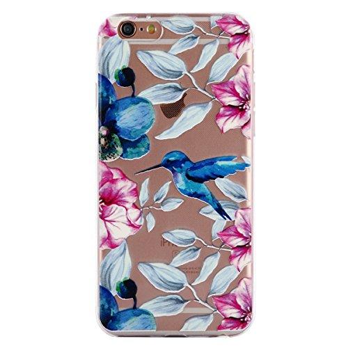Coque iPhone 6, iPhone 6S Coque Silicone Transparent, SainCat Ultra Slim Transparent TPU Case pour iPhone 6/6S, Anti-Scratch Gel Housse Transparent Silicone Case, Support Protection Anti Choc Shell, C Quéquette