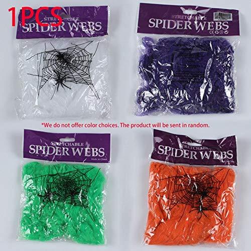 en Scary Partyszene Props Stretchy Spinnennetz Halloween-Dekoration ()
