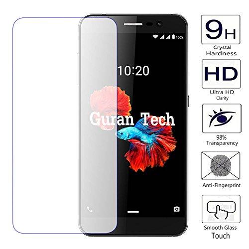 Guran® Displayschutz Glasfolie für ZTE Blade A910 Smartphone Hartglas Schutzfolie Film