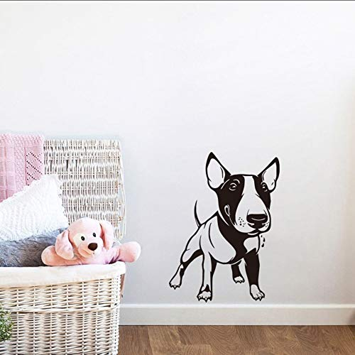 Txyang Little Pitbull Dog Wall Sticker Kids Room Decor Lovely Pitbull Puppy Wall Paper Living Room Decals Home Decor