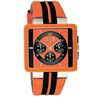 D&G Dolce&Gabbana DW0065 DW0063/DW0064/DW0065 – Reloj para Hombres, Correa de Cuero