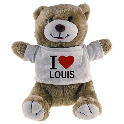 Preisvergleich Produktbild Kuscheltier Bär Classic I Love Louis beige