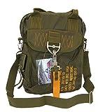 SBB Borsa para Bag 4 - Paracadutisti Style con moschettone a sgancio rapido e Portachiavi Follow Me/Remove Before Flight