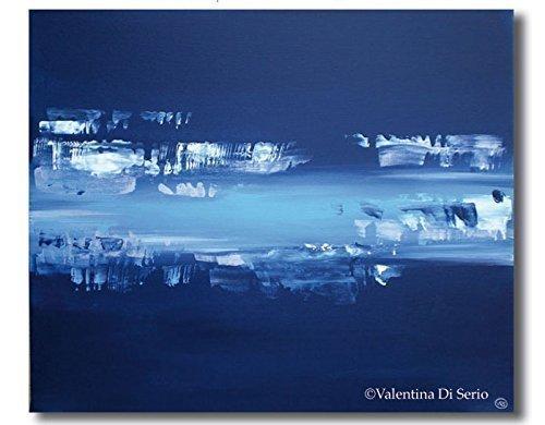Dipinto in acrilico - Sfiorando l'acqua