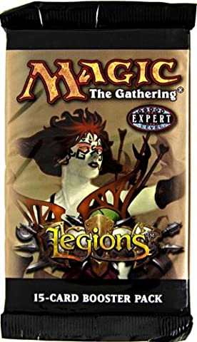 Upper Deck Magic The Gathering Card Game - Legions Booster Pack 15 Cards
