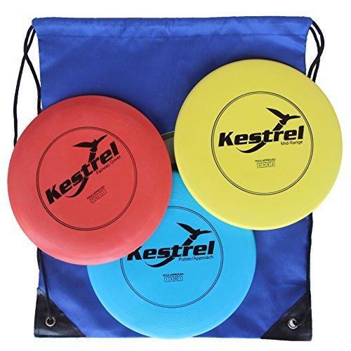 Disc Golf Pro Set Bundle-3disques + Sac-Jeu de...