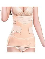 S & T/abdomen con three-set de materna corsé faja de posparto cinturón cinturón mejorar nacimiento cesárea